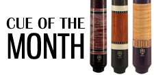 McDermott Cue of the Month