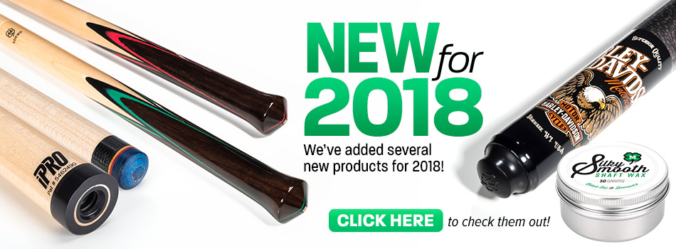 New Products for 2018